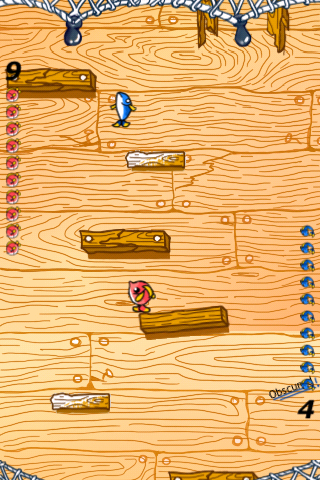 Screenshot iDescend FREE – Fish, Go Down!